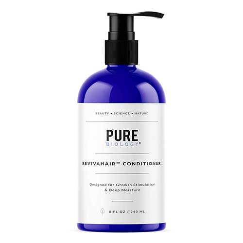 Best Hair Conditioners for Men 3. Premium Hair Growth Conditioner with Biotin, Keratin, Argan Oil & Breakthrough Anti Hair Loss Complex Deep by Pure Biology