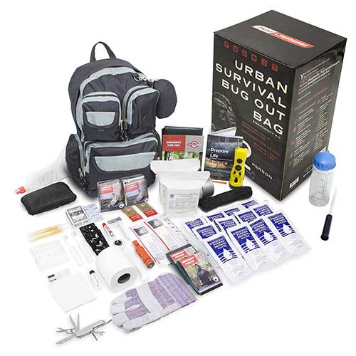 1. Emergency Zone Urban Survival 72-Hour Bug Out/Go Bag | Perfect Way to Prepare Your Family