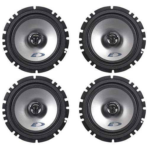 Best 6.5 Car Speakers for Bass 4. (2) Pairs Alpine SXE-1725S 6.5