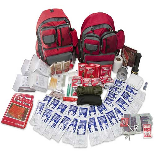8. Emergency Zone 4 Person Family Prep 72 Hour Survival Kit/Go-Bag