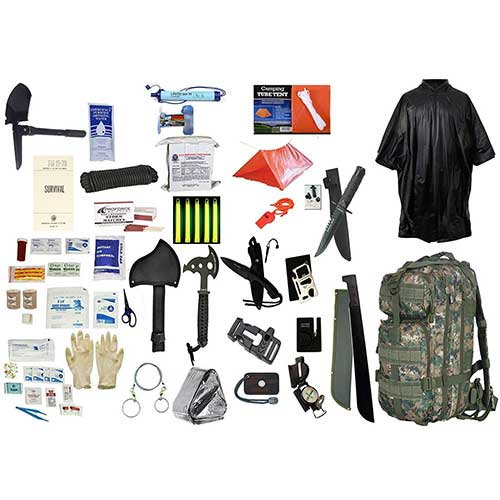 3. 2 Person Supply 3 Day Emergency Bug Out Bag by Ultimate Arms Gear