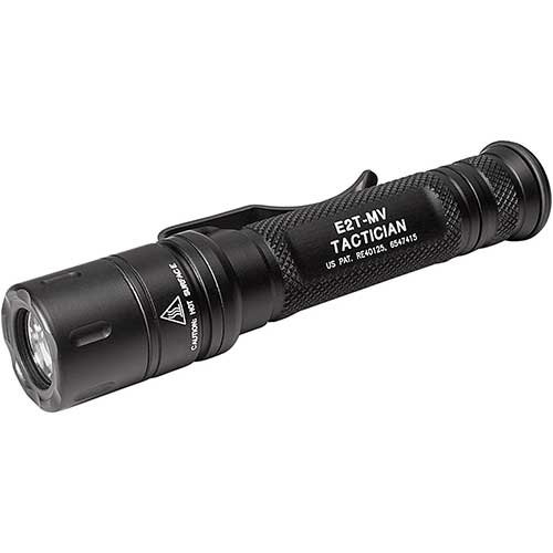 Best Surefire Flashlights 4. SureFire Tactician High-Output LED Flashlight with Maxvision, Black