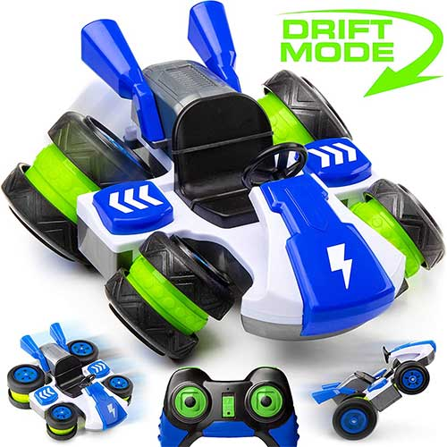 6. RC Drift Car Remote Control Car - Remote Control Car for Boys or Girls w/ RC Car Tilt Wheels