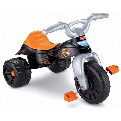1. Fisher-Price Harley-Davidson Tough Trike [Amazon Exclusive]