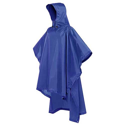 Best Rain Ponchos for Travel 6. Terra Hiker Rain Poncho, Waterproof Raincoat with Hoods for Outdoor Activities