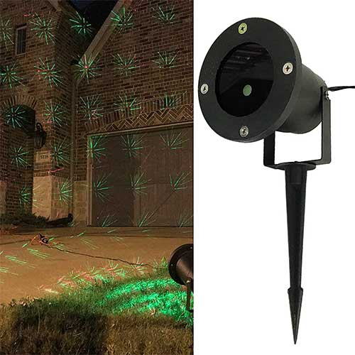 Best Garden Laser Lights 7. Allgala Christmas Garden Laser Light Project for Indoor and Outdoor