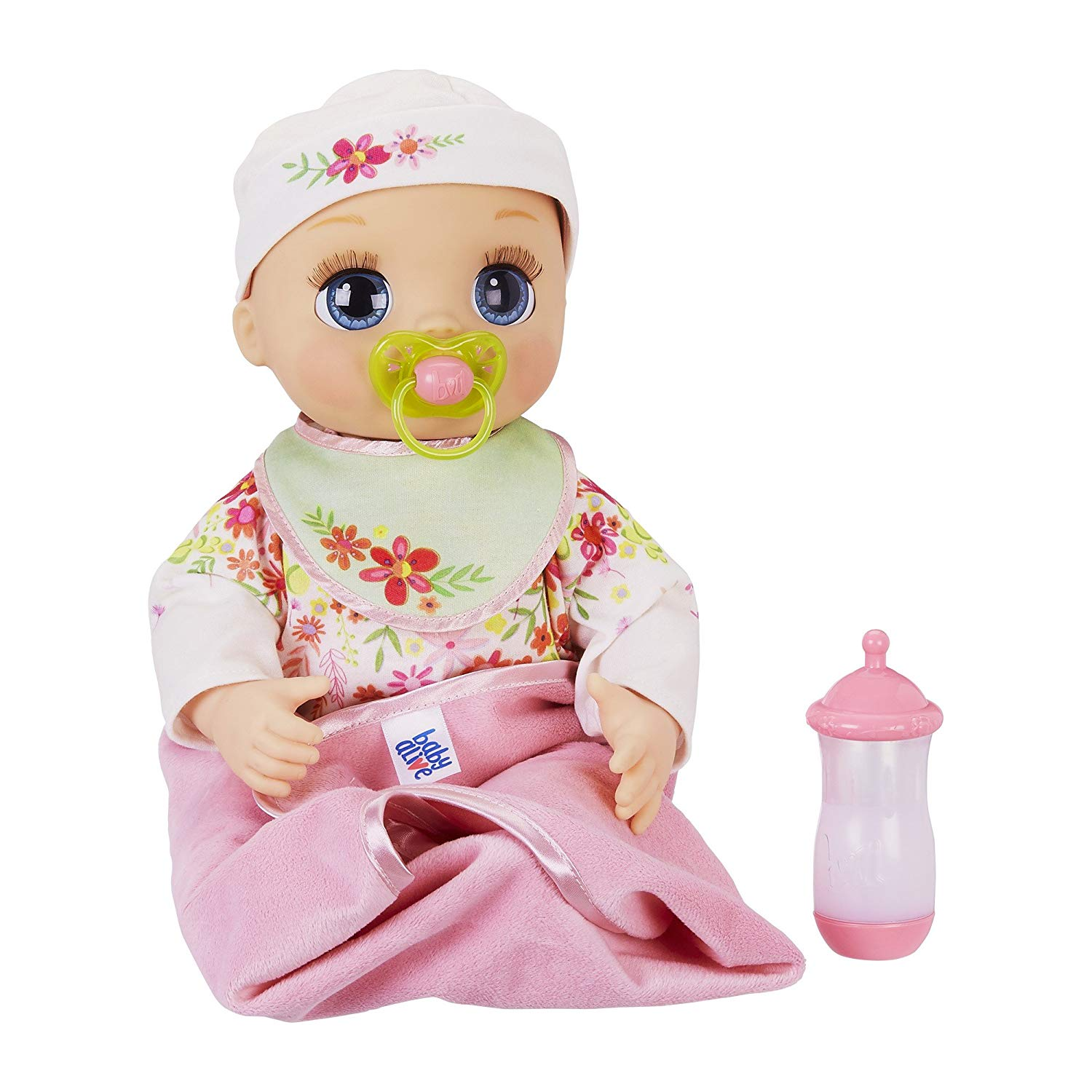 5. Baby Alive Real As Can Be Baby: Realistic Blonde Baby Doll, 80+ Lifelike Expressions, Movements & Real Baby Sounds