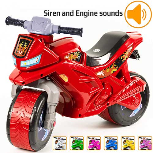 5. Ride-on Push Bike for Toddlers and Kids 2-5 Years Old Plastic Balance Bike Outdoor & Indoor Stroller Toy Motorcycle