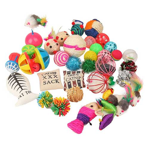 8. Fashion's Talk Cat Toys Variety Pack for Kitty