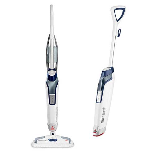2. Bissell Powerfresh Deluxe Steam Mop, Steamer, Tile, Hard Wood Floor Cleaner, 1806, Sapphire