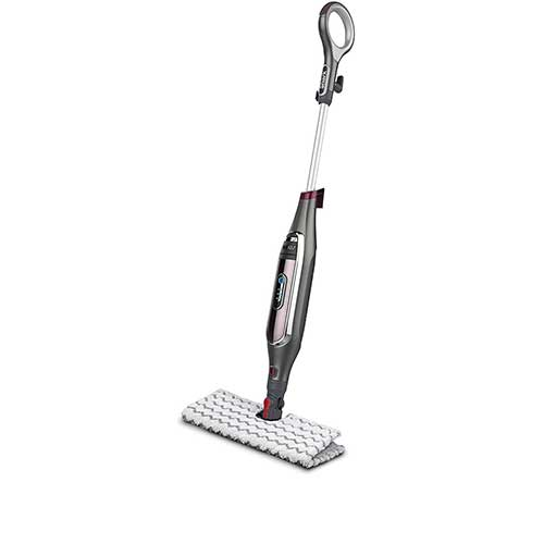 6. Shark Genius Hard Floor Cleaning System Pocket (S5003D) Steam Mop, Gray