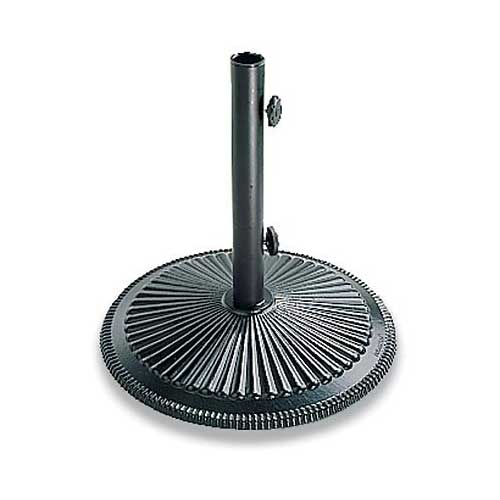 Best Patio Umbrella Stands for Wind 2. Plow & Hearth 50 Lb. Cast Iron Umbrella Base