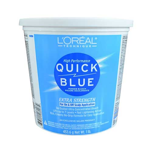 Best Hair Bleach Kits to Use 8. L'Oreal Quick Blue Powder Bleach, 16 Ounce