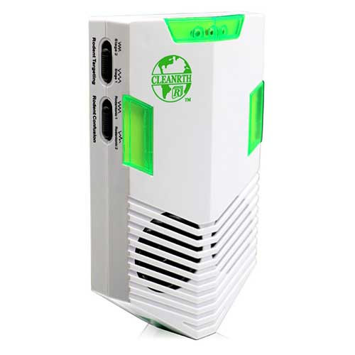 7. CLEANRTH CR008 Advanced Ultrasonic Rodent Repelling System