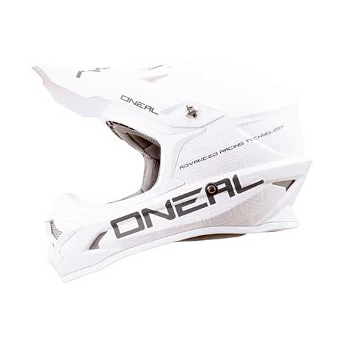Best Snowmobile Helmets 5. O'Neal 0623-053 3 Series Helmet (White, Medium)