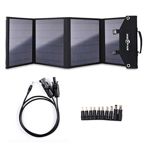 2. ROCKPALS Foldable 60W Solar Panel Charger for Suaoki/Jackery Explorer 240