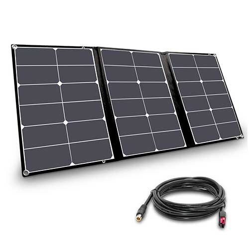 1. Jackery SolarSaga 60W Solar Panel for Explorer 240 and Explorer 160 as Portable Solar Generator