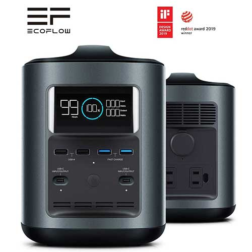 9. EF ECOFLOW River 370 Portable Power Station Generator