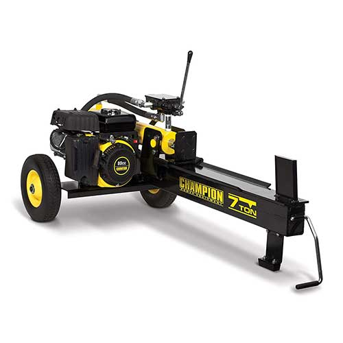 4. Champion 7-Ton Compact Horizontal Gas Log Splitter with Auto Return