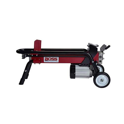 2. Boss Industrial ES7T20 Electric Log Splitter, 7-Ton