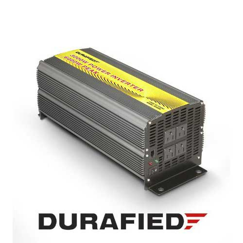 8. 3000W High Efficiency POWER INVERTER (6000 Watt Peak) by Durafied®