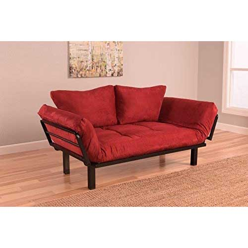 Best Futons for Everyday Sleeping 5. Best Futon Lounger Sit Lounge Sleep Smaller Size Furniture is Perfect for College Dorm Bedroom Studio Apartment Guest Room Covered Patio Porch. KEY KITTY Key Chain INCLUDED (RED)