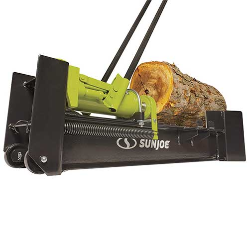 9. Sun Joe LJ10M 10-Ton Hydraulic Log Splitter, Green