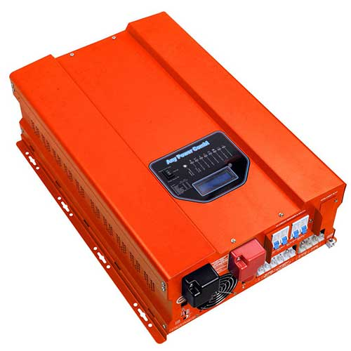 10. HF Series ZODORE 1000w Peak 3000w Low Frequency Pure Sine Wave Inverter/ Charger DC 24v AC 110v Converter LED&LCD