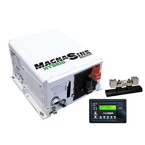 7. Go Power! GP-MSH3012M-PKG 3000 Watt Pure Sine Wave Hybrid Magnum Inverter with Remote Charger and Fuse Block Package