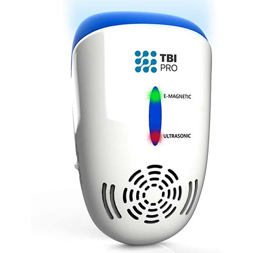 9. TBI Pro Ultrasonic Pest Repeller Wall Plug-in - Electromagnetic and Ionic Indoor Repellent