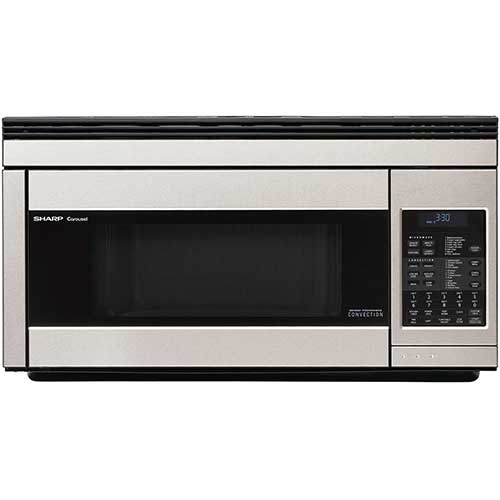 1. Sharp R1874T 850W Over-the-Range Convection Microwave