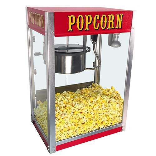 9. Paragon Theater Pop 8 Ounce Popcorn Machine