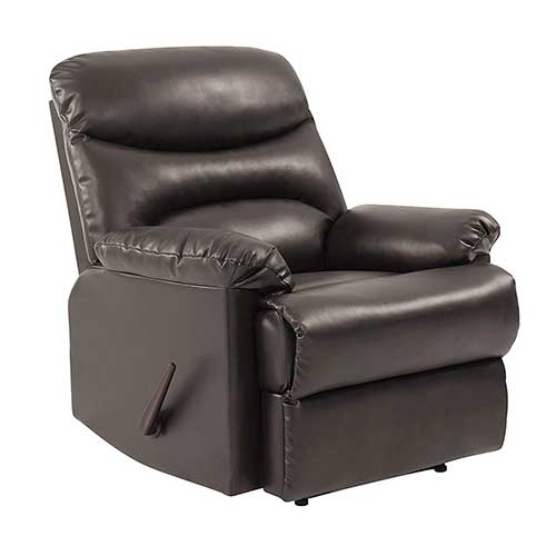 8. ProLounger Wall Hugger Recliner Chair in Coffee Brown Renu