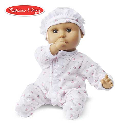 4. Melissa & Doug Mine to Love Mariana 12-Inch Baby Doll