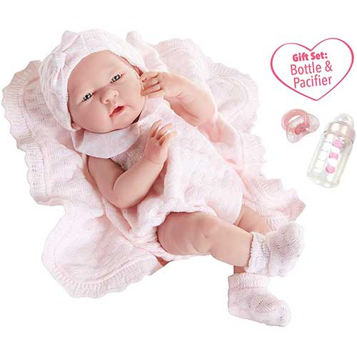 8. JC Toys La Newborn All-Vinyl-Anatomically Correct Real Girl 15