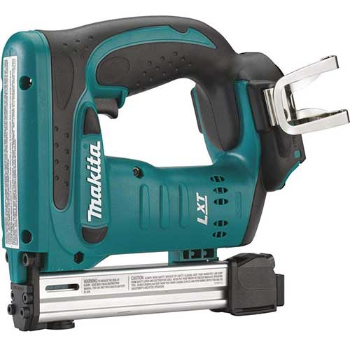 10. Makita XS01Z 18V LXT Crown Stapler