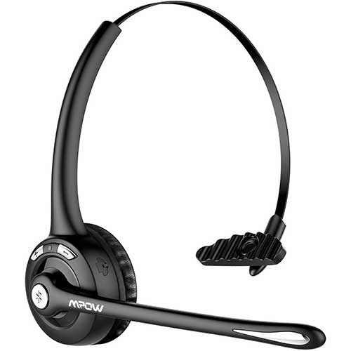 3. Mpow Pro Trucker Bluetooth Headset/Cell Phone Headset