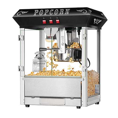 3. Hot and Fresh Countertop Style Popcorn Popper Machine