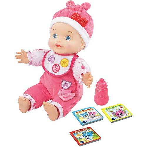 5. VTech Baby Amaze Learn to Talk and Read Baby Doll