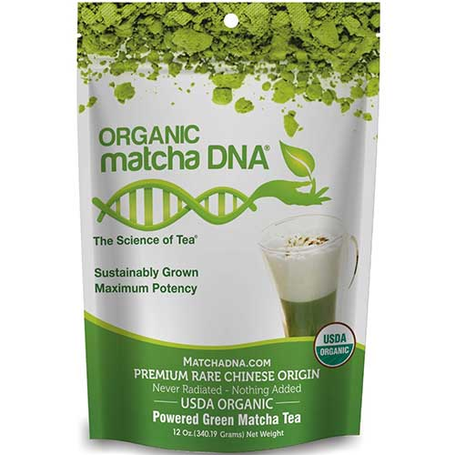 4. Organic Japanese Matcha Green Tea Powder by Kate Naturals