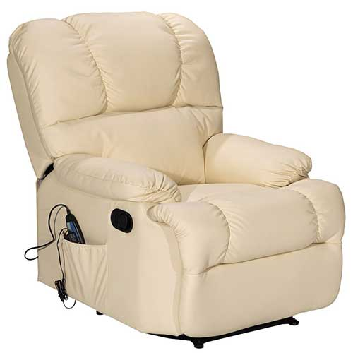 9. Giantex Recliner Massage Sofa Chair