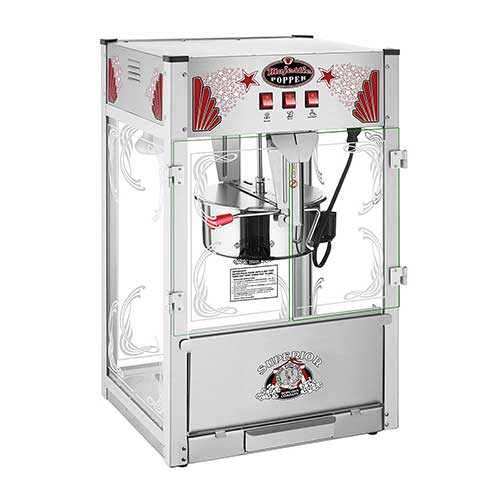 7. Majestic Popcorn Machine- Commercial Style Popcorn Popper Machine