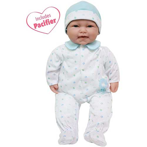 7. JC Toys, La Baby 20-inch Soft Body Blue Play Doll