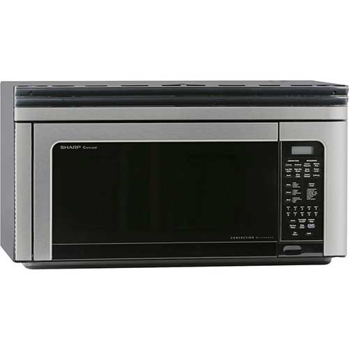 2. Sharp Carousel R-1881LSY Convection Microwave Oven