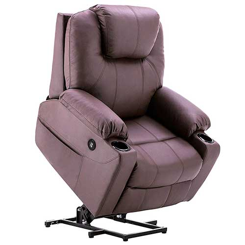 2. Mcombo Electric Power Lift Recliner Chair Sofa