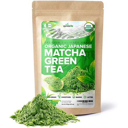 3. Organic Japanese Matcha Green Tea Powder – USDA & JAS Organic - Authentic Japanese Origin