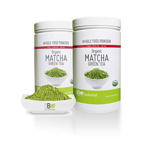9. nubeleaf Organic Matcha Green Tea Powder- Premium Gourmet Matcha Green Tea Powder