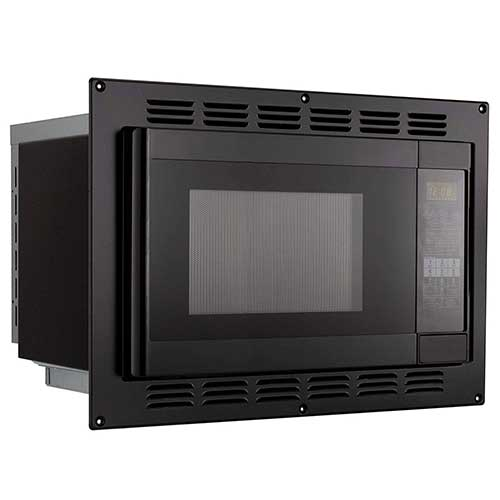 6. RV Convection Microwave Black 1.1 Cu. ft | 120V | Microwave | Appliances