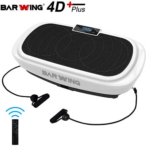 4. BARWING 4D Vibration Platform, Micro Vibration, Whole Body Workout Machine