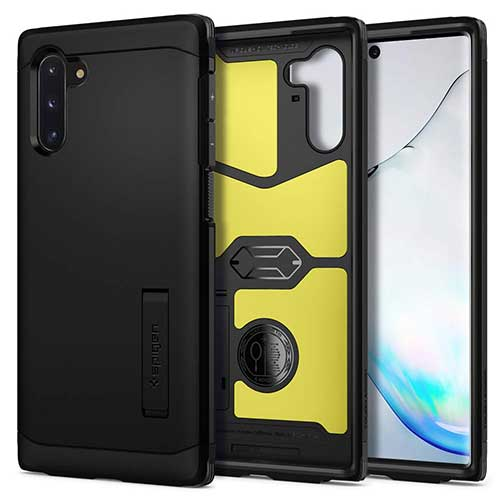 7. Spigen Tough Armor Designed for Samsung Galaxy Note 10 Case (2019)